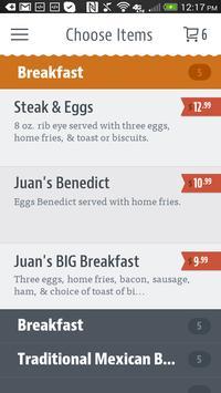 Juan's Mexican Cafe & Cantina screenshot 2