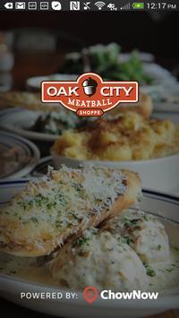 Oak City Meatball Shoppe poster