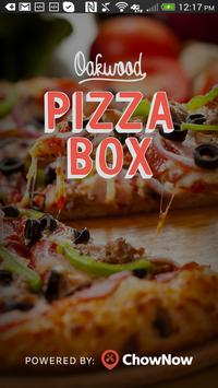Oakwood Pizza Box poster