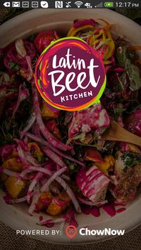 Latin Beet Kitchen poster