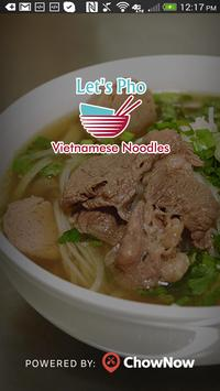 Let's Pho poster