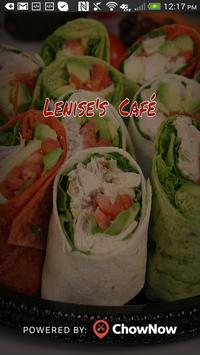 Lenise's Cafe poster