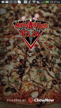 Mountain High Pizza poster