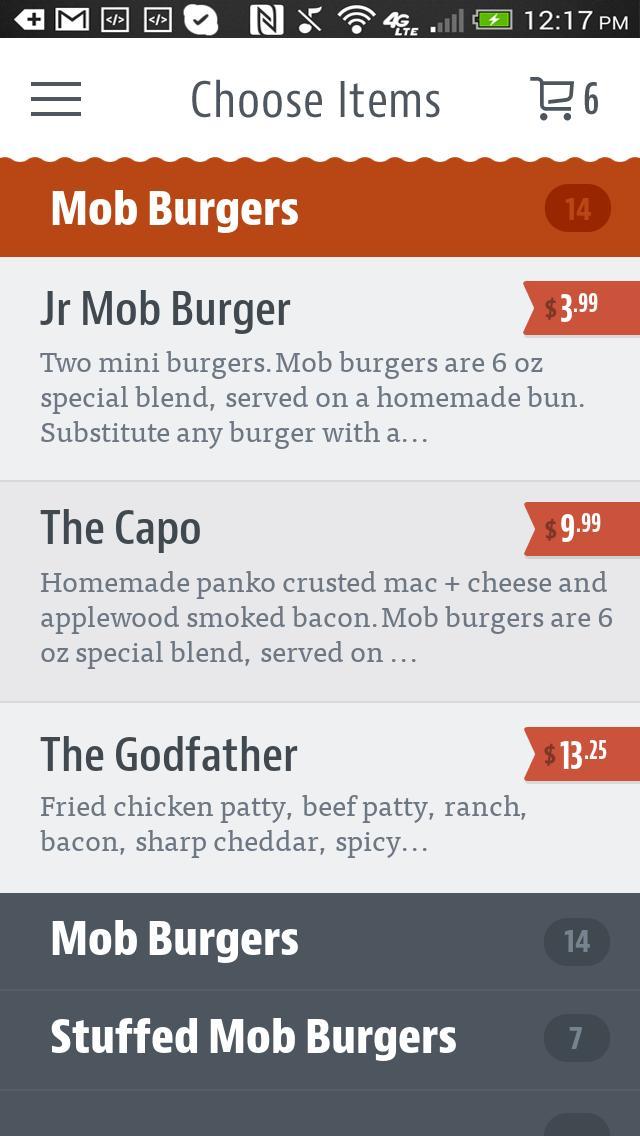 Mob Burger poster