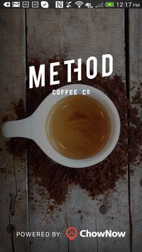 Method Coffee To Go poster