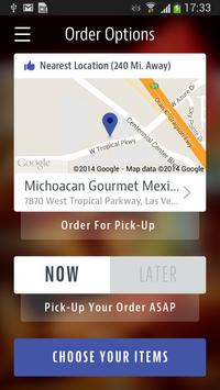 Michoacan Mexican Restaurant apk screenshot