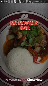 NC Noodle Bar poster