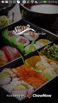 Shiso Sushi & Oyster Bar poster