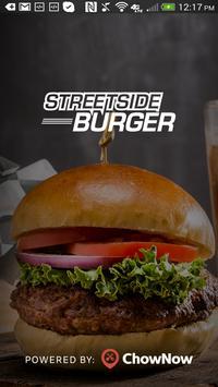 Streetside Burger poster