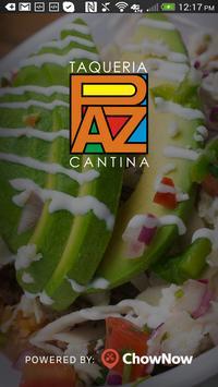 Paz Cantina poster