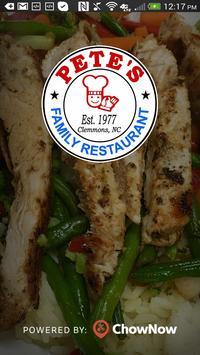 Pete's Family Restaurant poster