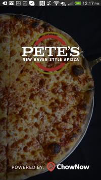 Pete's New Haven Style Apizza poster