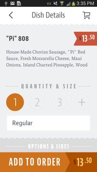 Pi Artisan Pizzeria apk screenshot