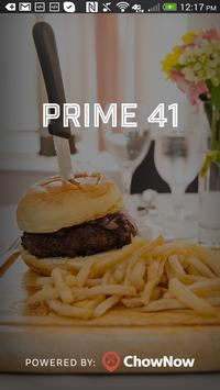 Prime 41 poster