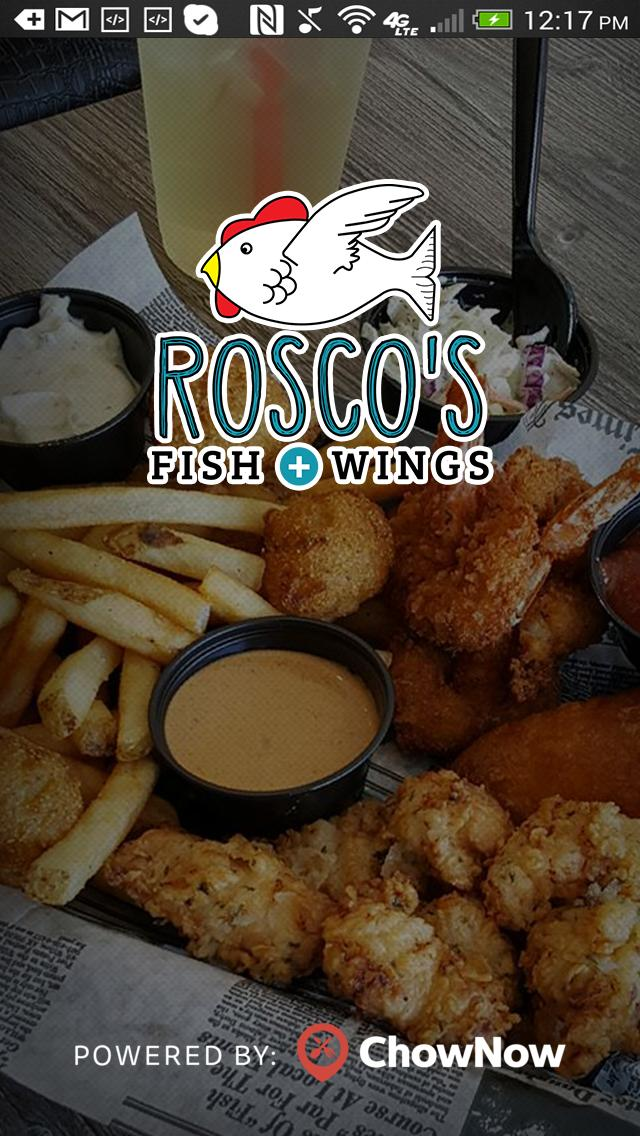 Rosco's Fish & Wings poster
