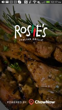 Rosie's Italian Grille poster