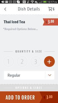 Red Ginger Thai & Sushi apk screenshot