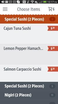 Rize Thai Sushi screenshot 2