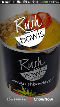 Rush Bowls poster