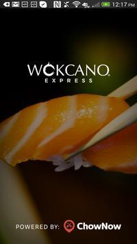 Wokcano Asian Express poster