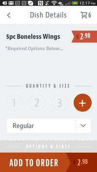 Wings To Go screenshot 3