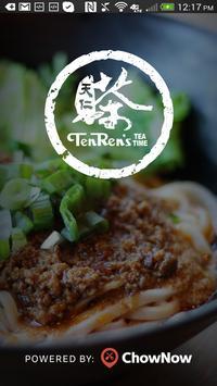 Ten Ren's Tea Time poster