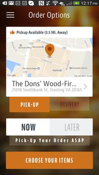 The Dons' Wood-Fired Pizza screenshot 1