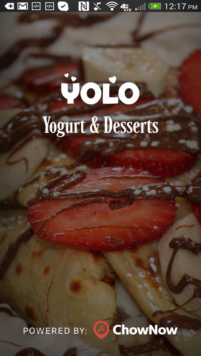 YOLO Yogurt & Desserts poster