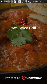 Yeti Spice Grill poster