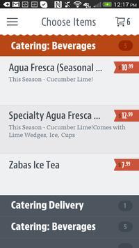 Zaba's Mexican Grill apk screenshot
