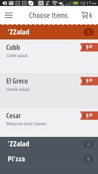 'ZZA Pizza + Salad apk screenshot