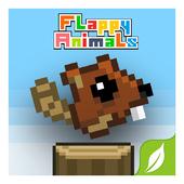 Flappy animals icon