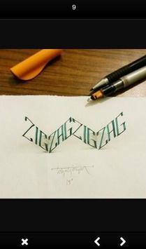 3D Hand Lettering screenshot 3