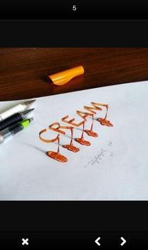 3D Hand Lettering screenshot 1