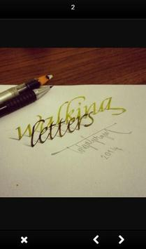 3D Hand Lettering screenshot 2