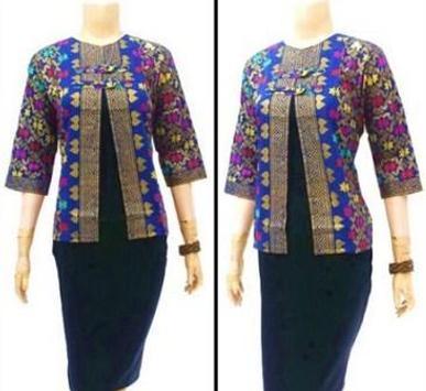 Latest Batik Shirt Design apk screenshot