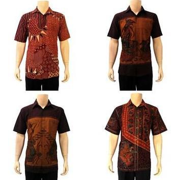 Latest Batik Shirt Design poster