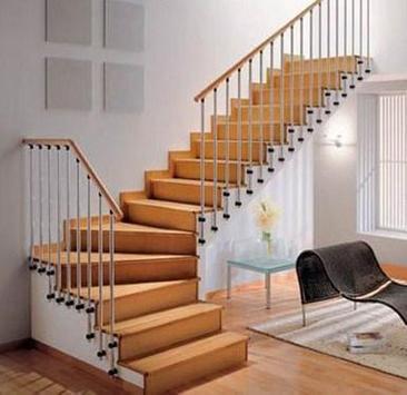Stair Design Minimalist House poster