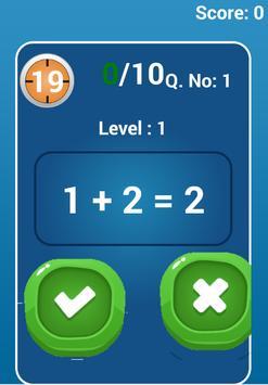 Math Brain Train apk screenshot