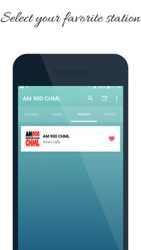 900 CHML AM Radio Station Canada screenshot 1