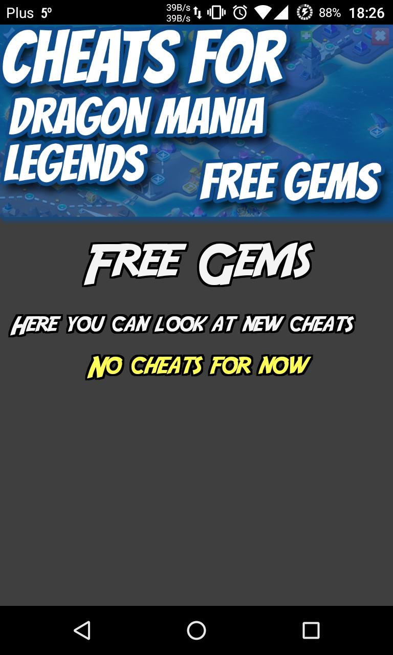 Cheats Hack For Dragon Mania for Android - APK Download