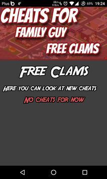 Cheats Hack For Family Guy apk screenshot