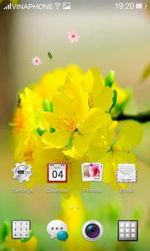 Apricot Blossom Live Wallpaper HD 4K screenshot 3