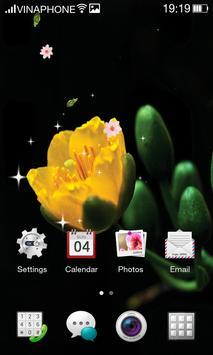 Apricot Blossom Live Wallpaper HD 4K screenshot 1