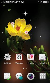Apricot Blossom Live Wallpaper HD 4K screenshot 4