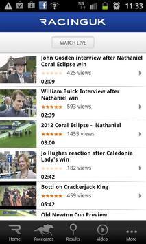 Racing UK - Watch Live Races screenshot 6