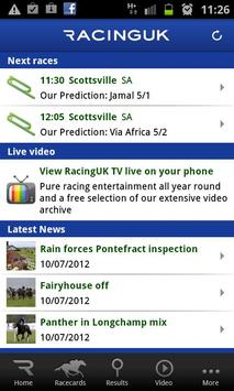 Racing UK - Watch Live Races poster