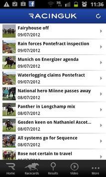 Racing UK - Watch Live Races screenshot 1