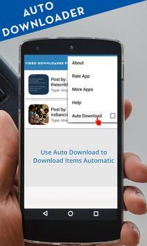 Video downloader for insta screenshot 2