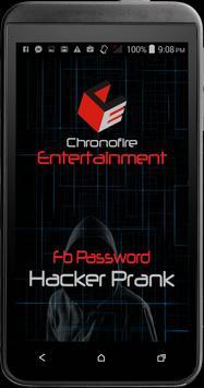 Password Hacker fb Prank poster